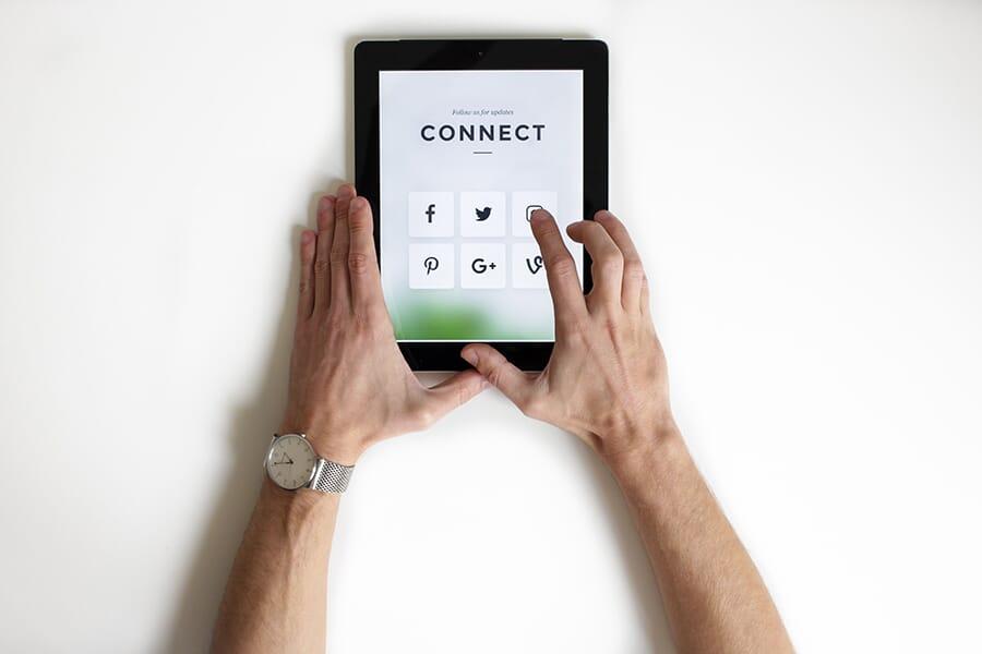 redes sociais para coworkings