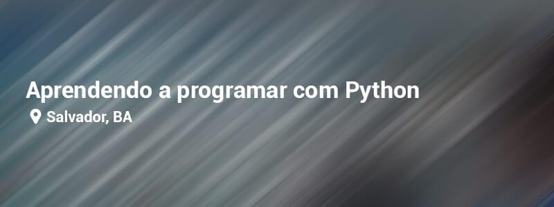 Lógica de programação & Python