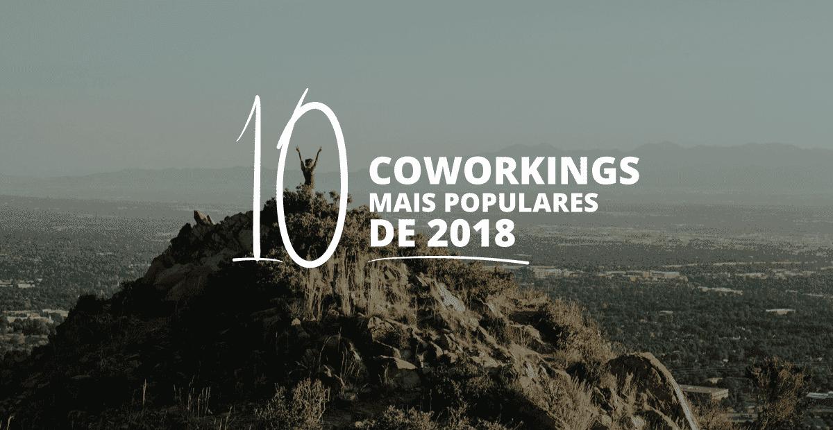 Imagem Top 10 espaços mais populares no Coworking Brasil em 2018