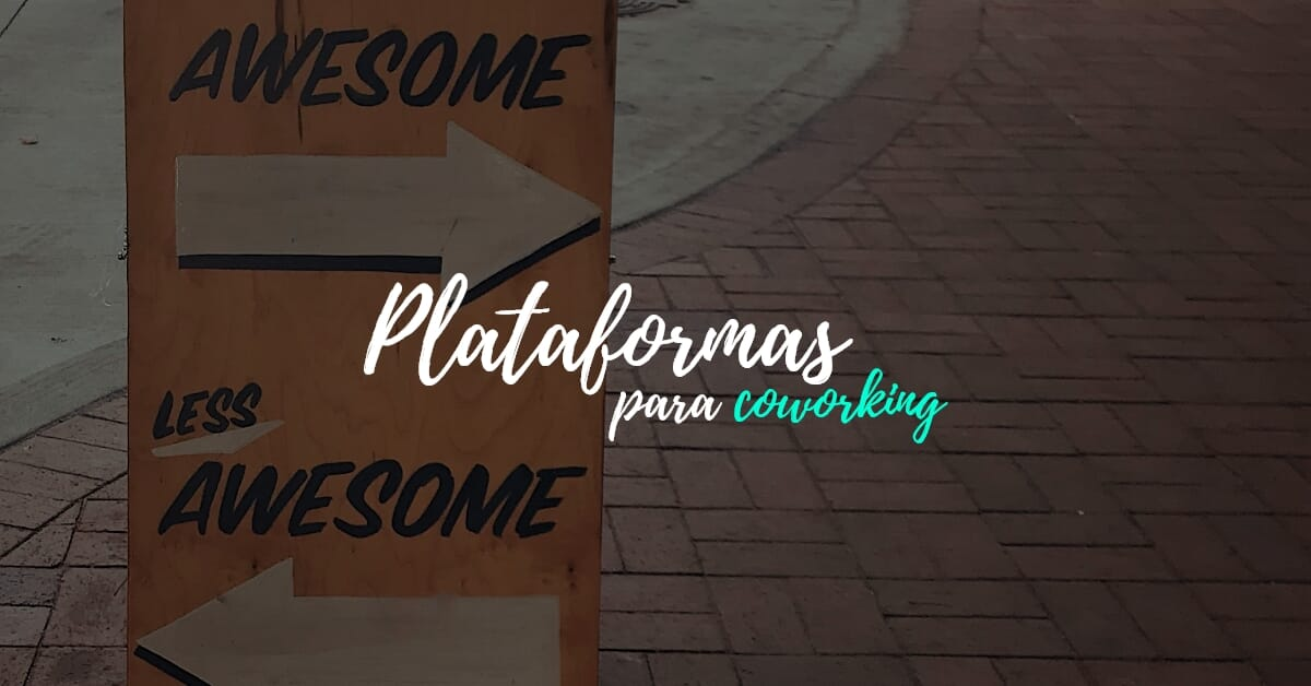 Imagem Qual o papel das plataformas de coworking?